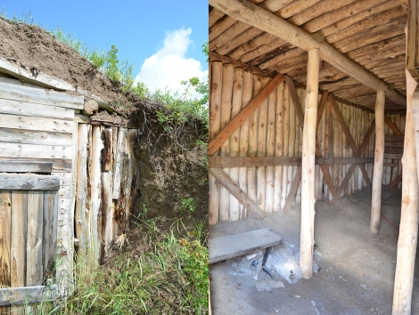 Elizabeth Sod-Roof Root Cellar