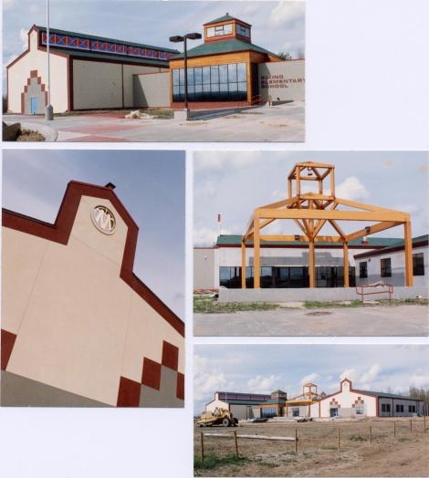 Early images of the school (courtesy of Bruce Koliger)