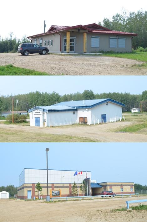 Community Buildings at East Prairie