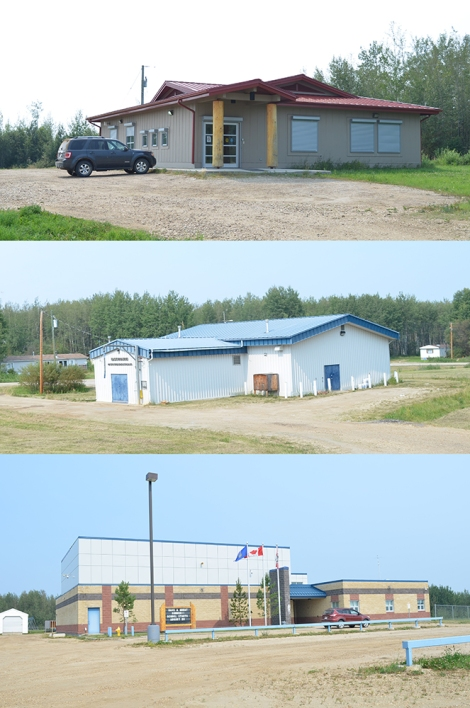 Community Buildings at East Prairie