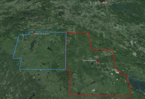 Buffalo Lake Settlement Territory