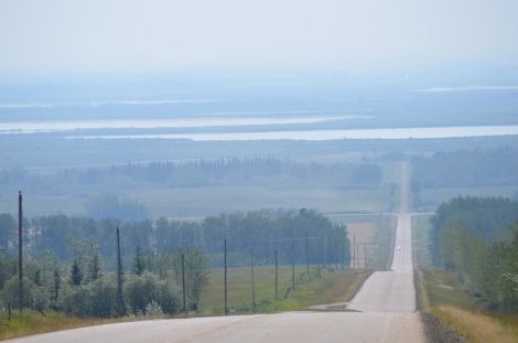 Road to Peavine Settlement