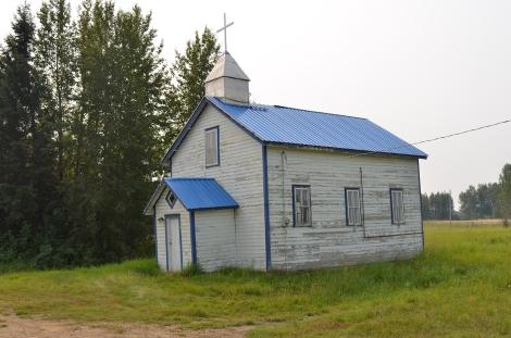 Abandoned church at East Prairie