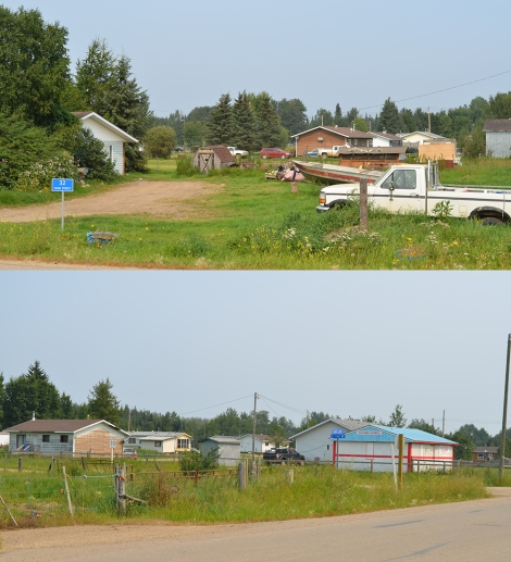 Homes near the community centre