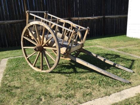 Red River Cart at Ft. Carlton, SK