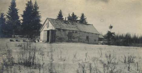 Unidentified Log Building, Northern Saskatchewan (1908-1909)