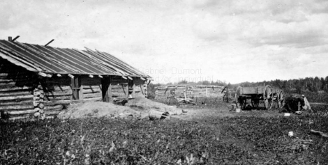 Unidentified Log Buildings, Northwestern Saskatchewan (1908-1909)